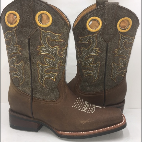 full range of specifications high quality unique style Women's Cowgirl Boots Brown Color Boutique